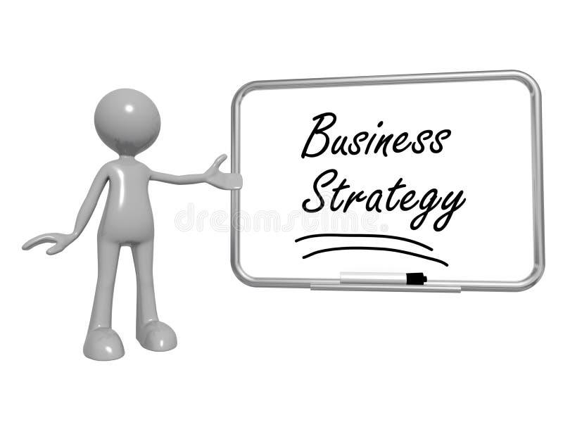 Знак стратегии бизнеса иллюстрация вектора