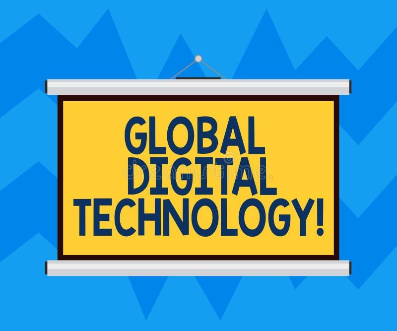 Знак текста показывая глобальную цифровую технологию Схематическим информация переведенная в цифровую форму фото в форме пробела  бесплатная иллюстрация