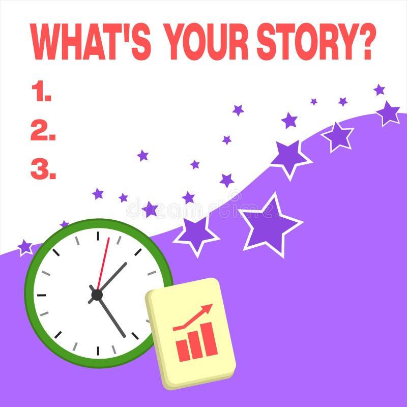 Знак текста показывая какому s ваш вопрос о рассказа Схематическое фото спрашивая демонстрировать об его прошлых событиях действи бесплатная иллюстрация