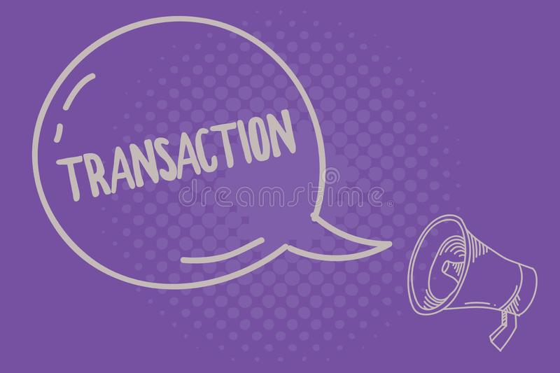 Знак текста показывая сделку Схематический пример фото покупать или продавать что-то обмен согласования иллюстрация штока