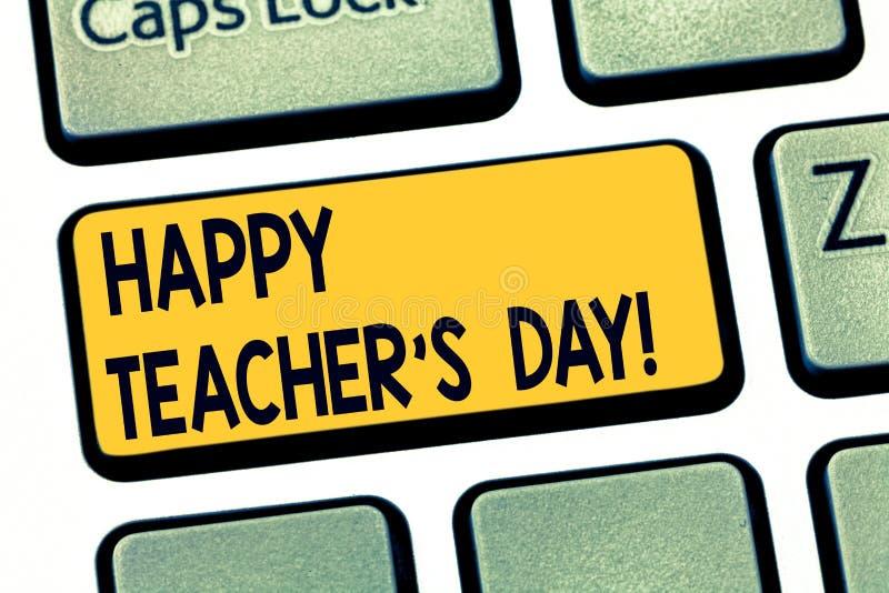 Знак текста показывая счастливого учителя s день Схематический президент Индия рождения вторых фото используемая для того чтобы о стоковое изображение rf