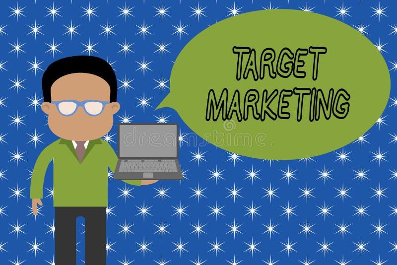 Знак текста показывая целевой маркетинг Схематической клиенты клиентов аудитории фото выбранные целью рекламируя человека положен бесплатная иллюстрация