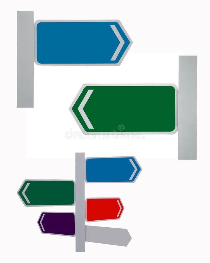 Знак уличного движения направления стоковые изображения