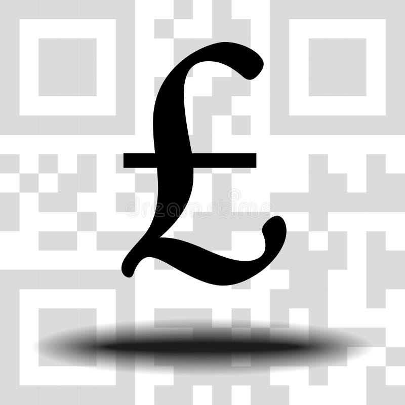 Знак фунта вектора бесплатная иллюстрация