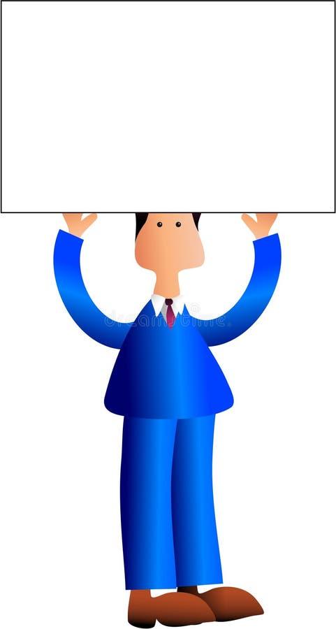 знак человека Стоковое фото RF