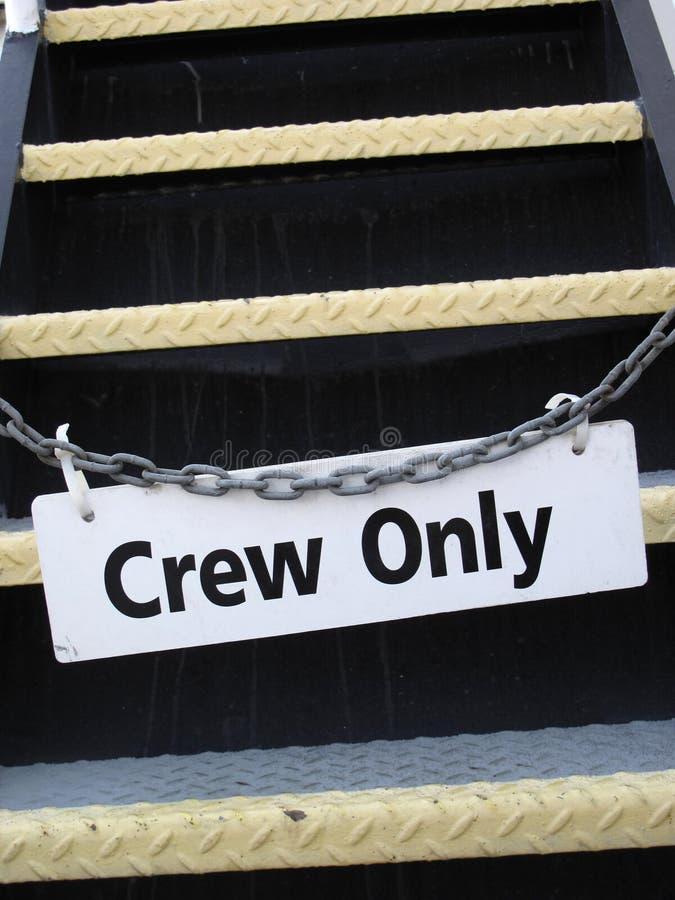 знак экипажа стоковые фотографии rf