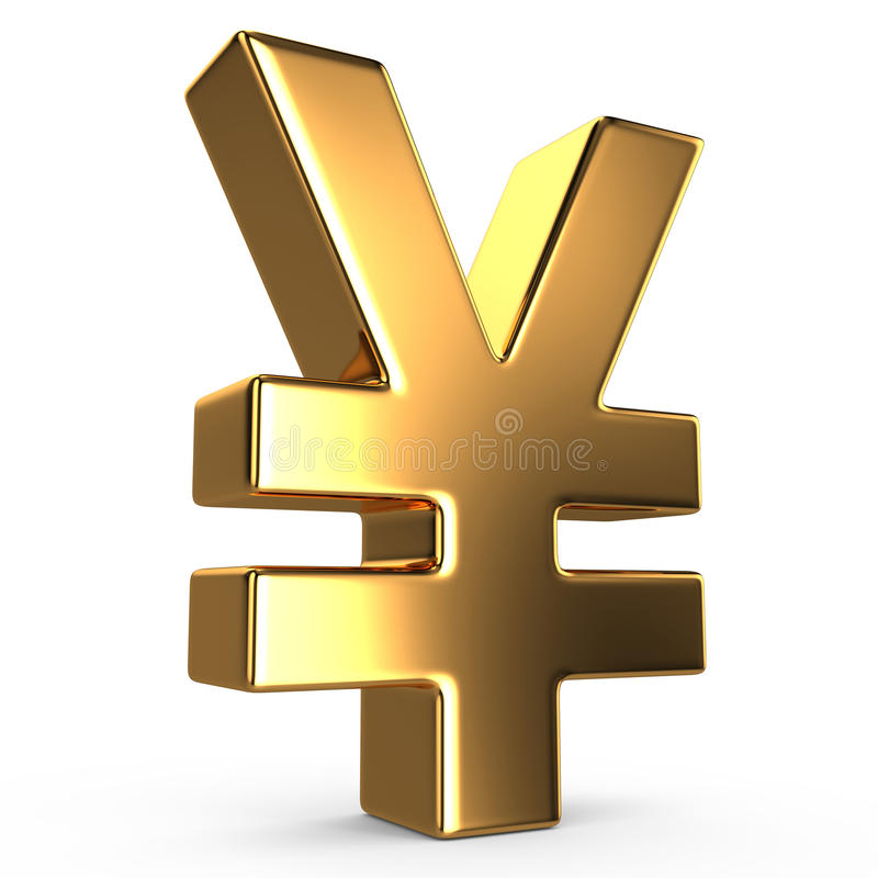 Знак юаней иллюстрация вектора