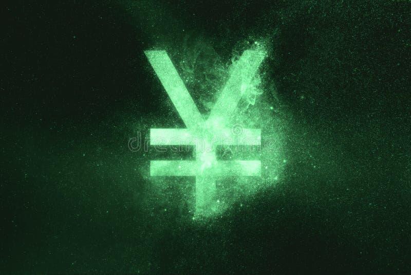 Знак японских иен, символ японских иен Зеленый символ бесплатная иллюстрация