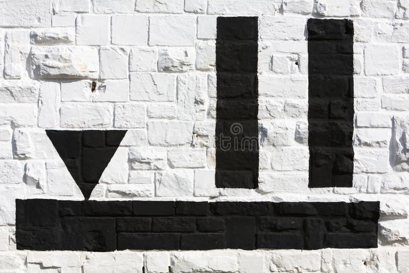 Знак стоковое фото rf