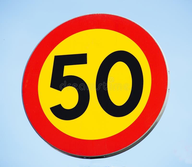 знак 50 стоковые изображения