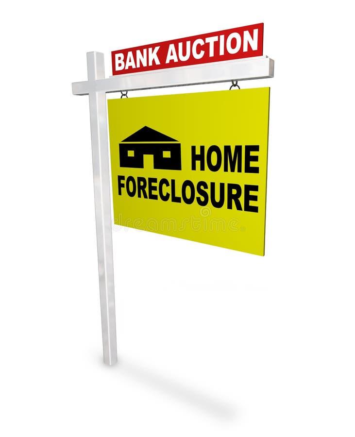 знак foreclosure домашний бесплатная иллюстрация