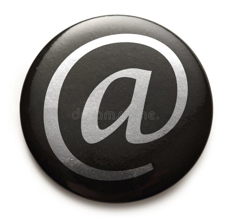 Знак international электронной почты стоковые изображения