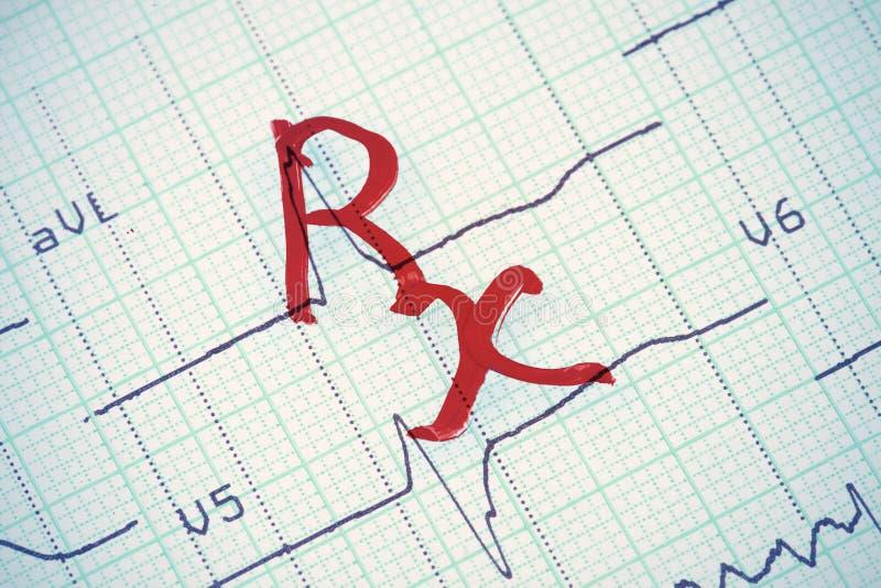 знак rx стоковая фотография rf