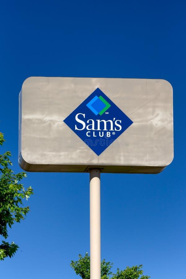 Знак Sam's Club стоковое изображение