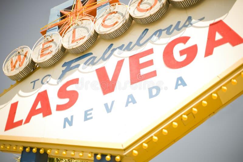 знак Vegas Стоковые Изображения RF