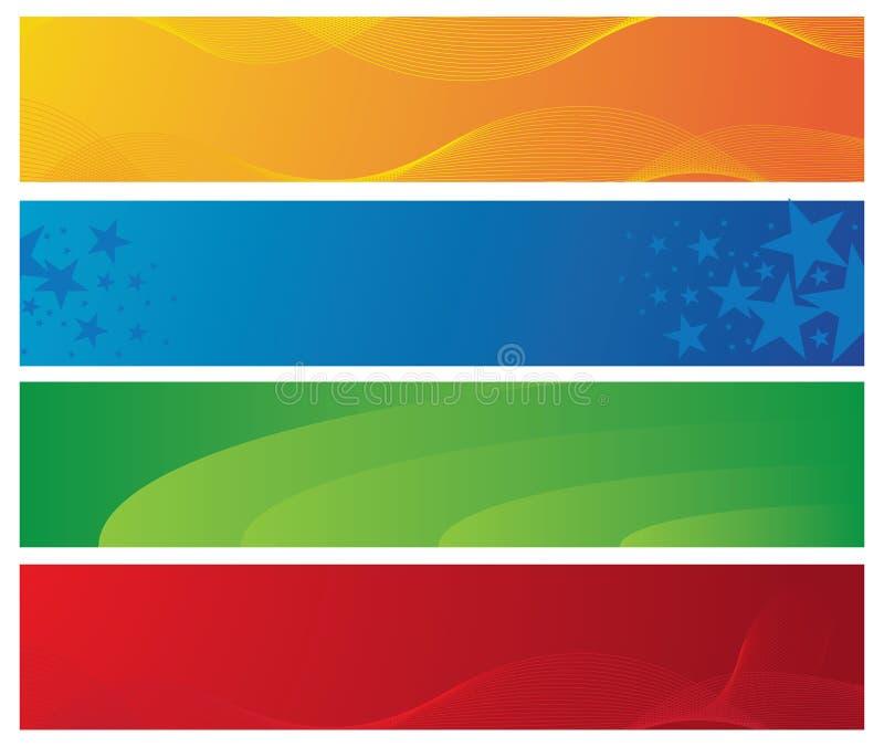 знамена цветастые 4 бесплатная иллюстрация
