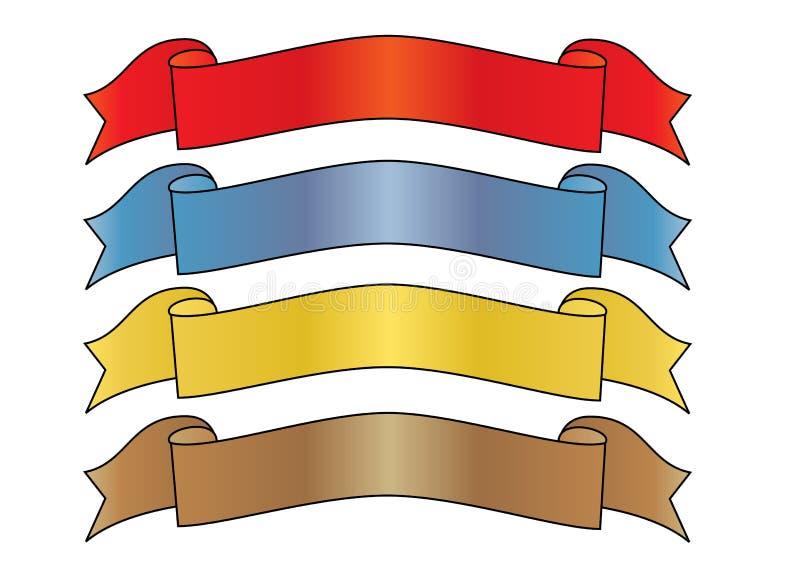 знамена бесплатная иллюстрация