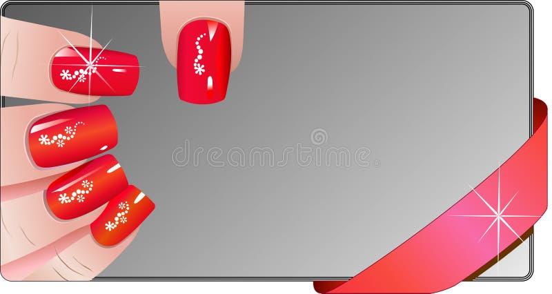 Знамена Manicure бесплатная иллюстрация