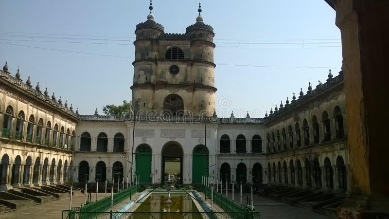 Знаменитое здание, используемое для проведения религиозных собраний по случаю святого праздника и расположенное в деревне недалек стоковое фото