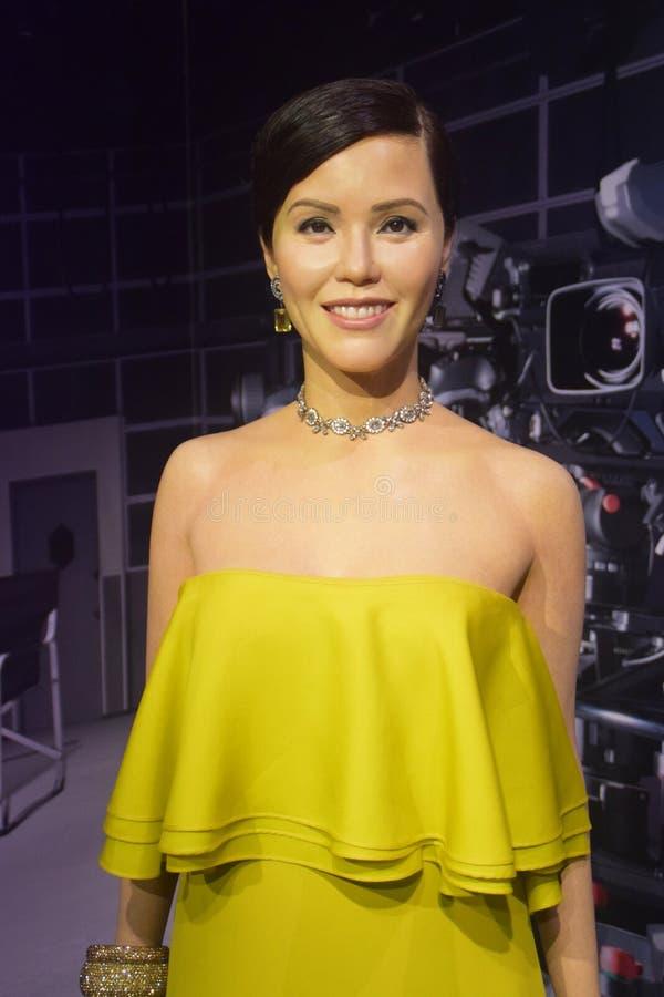 Знаменитости Zoe Tay Сингапура стоковая фотография