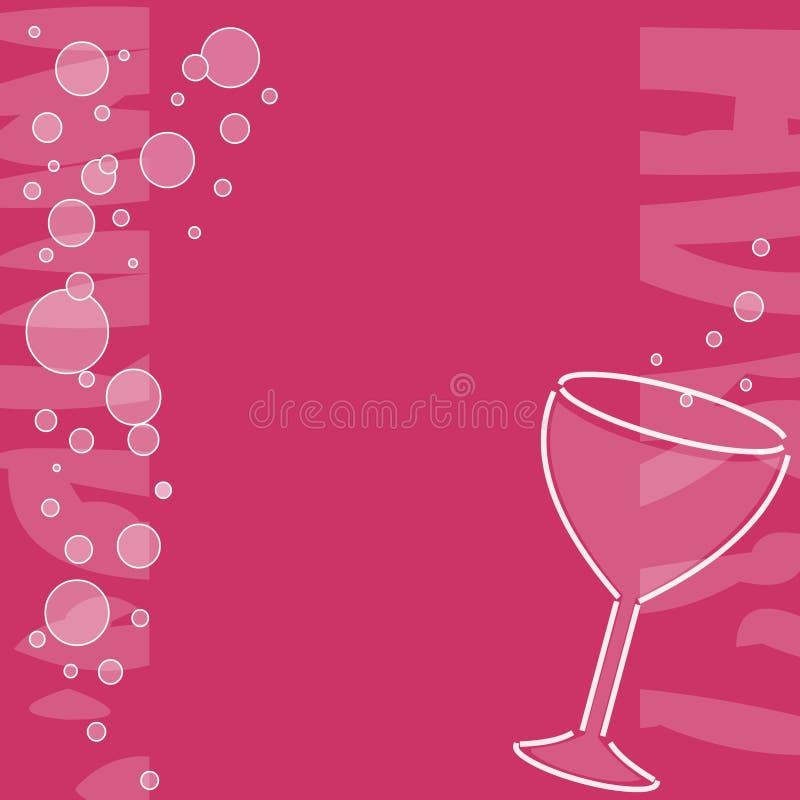 Знамя вина Бесплатные Стоковые Изображения
