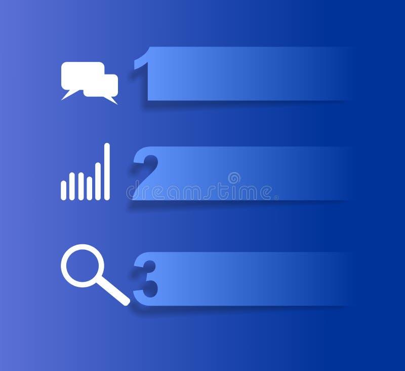 Знамя графиков информации бесплатная иллюстрация