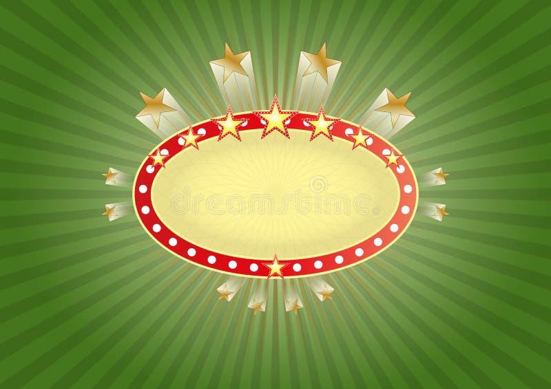Download Знамя Лас-Вегас иллюстрация вектора. иллюстрации насчитывающей зрелищность - 40585546