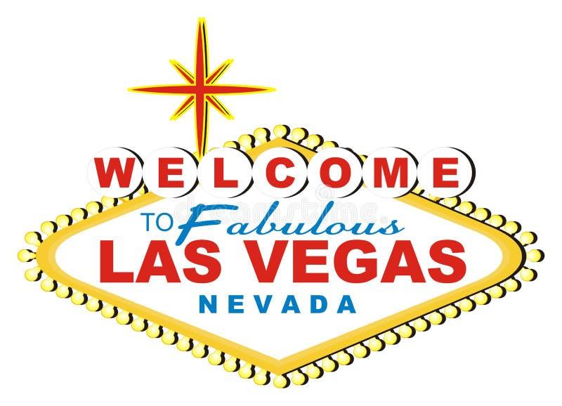 Знамя Лас-Вегас бесплатная иллюстрация