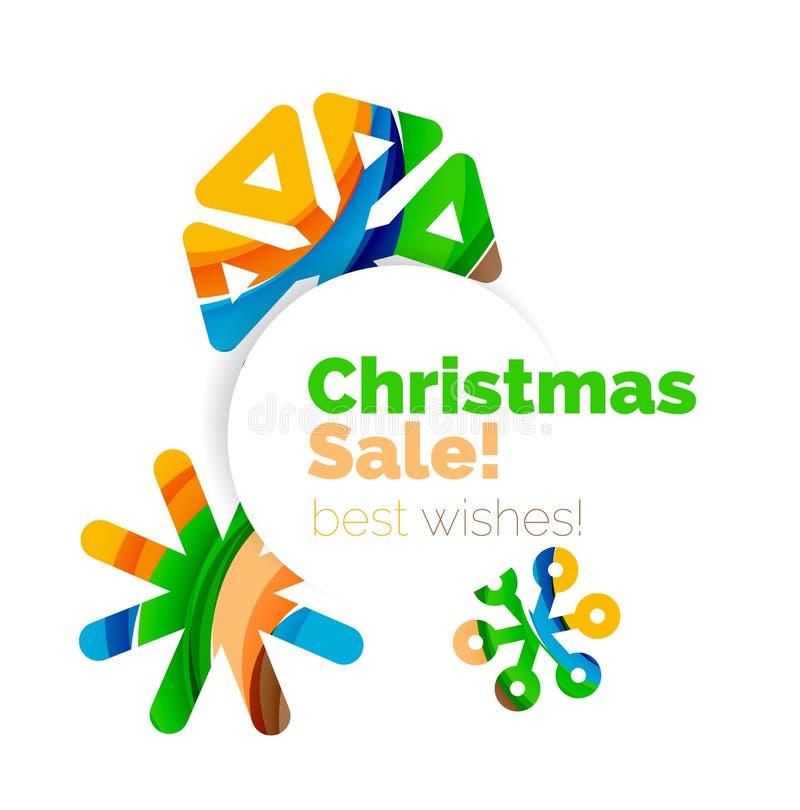 Download Знамя продажи рождества и Нового Года Иллюстрация вектора - иллюстрации насчитывающей bryce, сообщение: 81804962