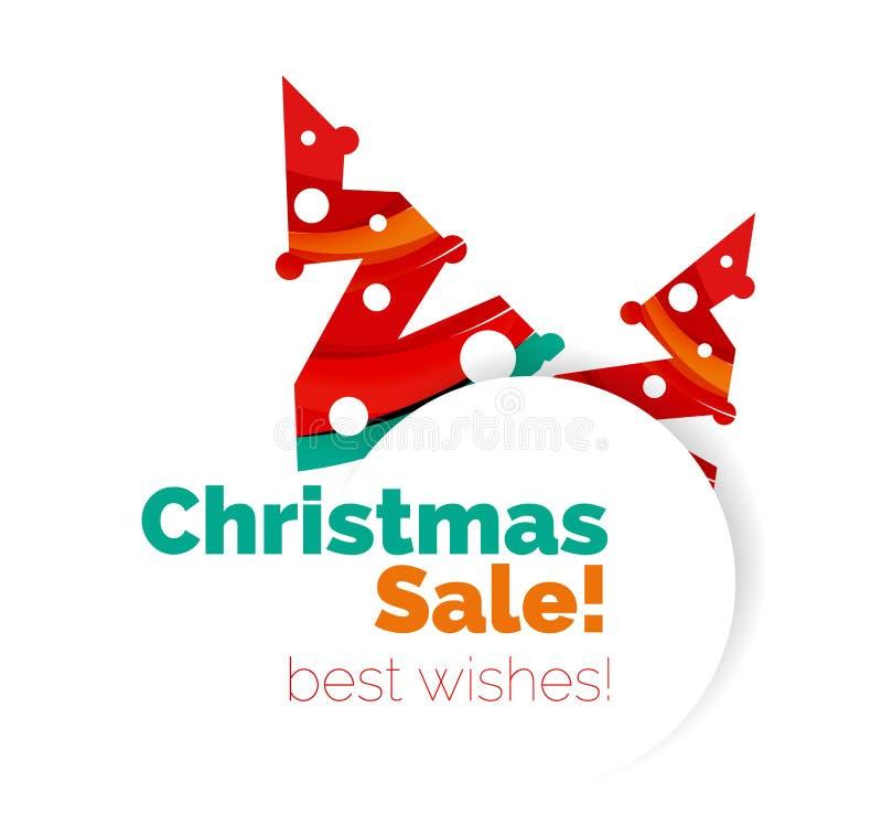 Download Знамя рождества и Нового Года геометрическое с текстом Иллюстрация вектора - иллюстрации насчитывающей творческо, рождество: 81804915