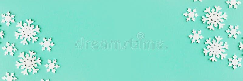 Знамя с популярным цветным зеленым Biscay 2020 стоковые изображения