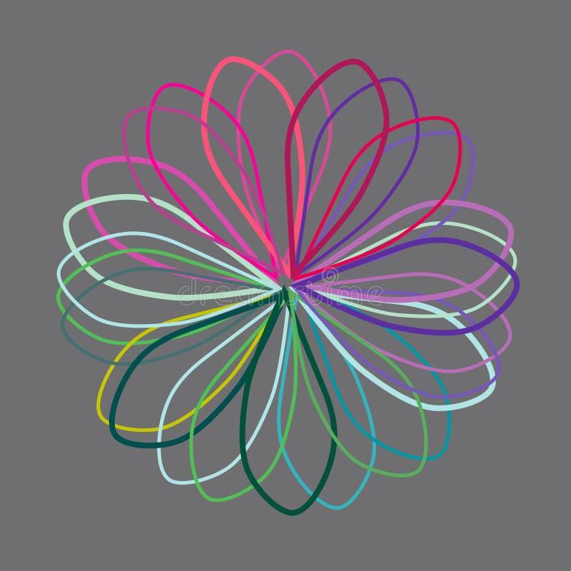 Знамя энергии, вектор иллюстрация штока