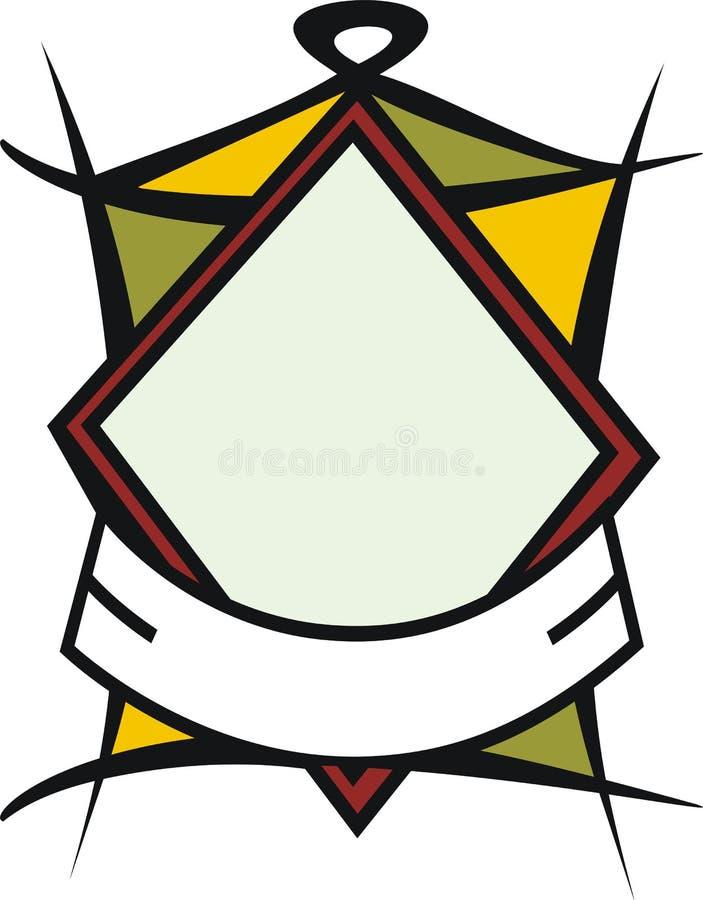 знамя стоковое фото rf