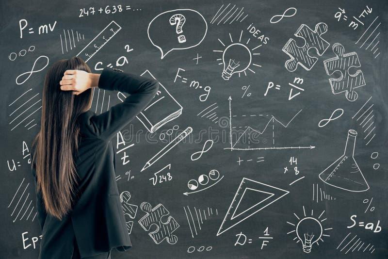 Знание и концепция науки стоковые фото