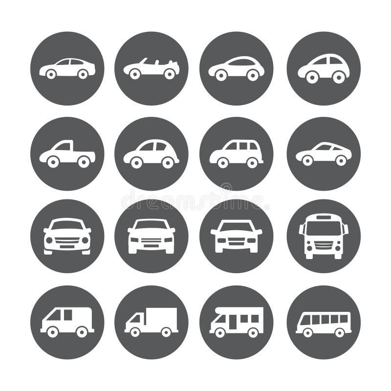 Значки автомобиля бесплатная иллюстрация