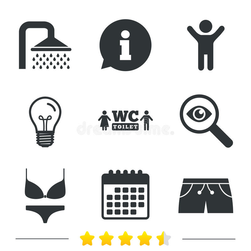 Download Значки бассейна Знаки ливня и Swimwear Иллюстрация вектора - иллюстрации насчитывающей падения, badged: 81805001