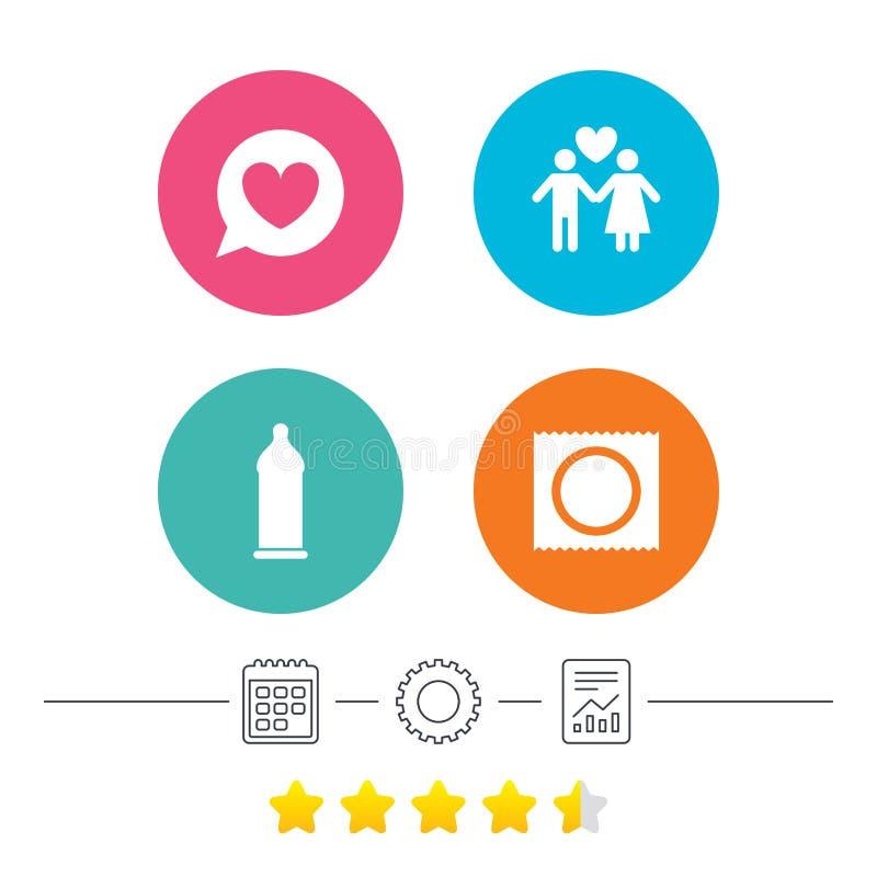 Download Значки безопасного секса презерватива Знак пар любовников Иллюстрация вектора - иллюстрации насчитывающей bozo, памятка: 81805595