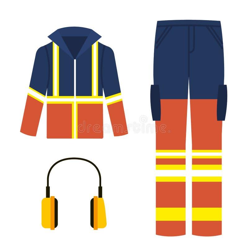 значки оборудования промышленной безопасностью бесплатная иллюстрация