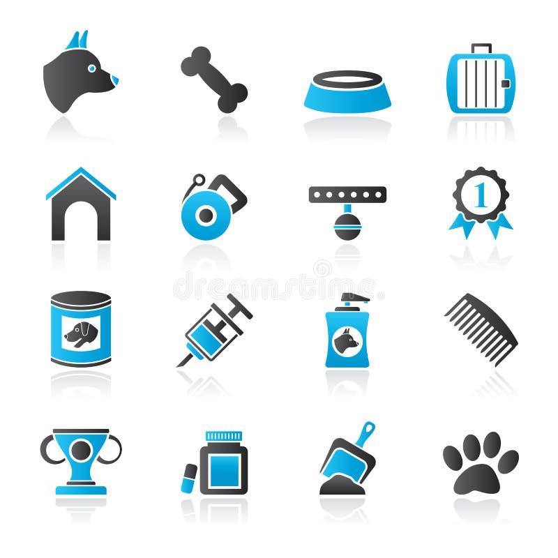 Значки объекта собаки и Cynology бесплатная иллюстрация