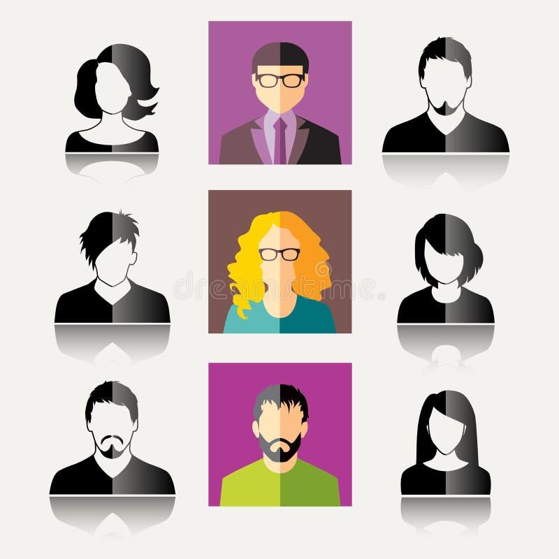 Значки потребителя бесплатная иллюстрация