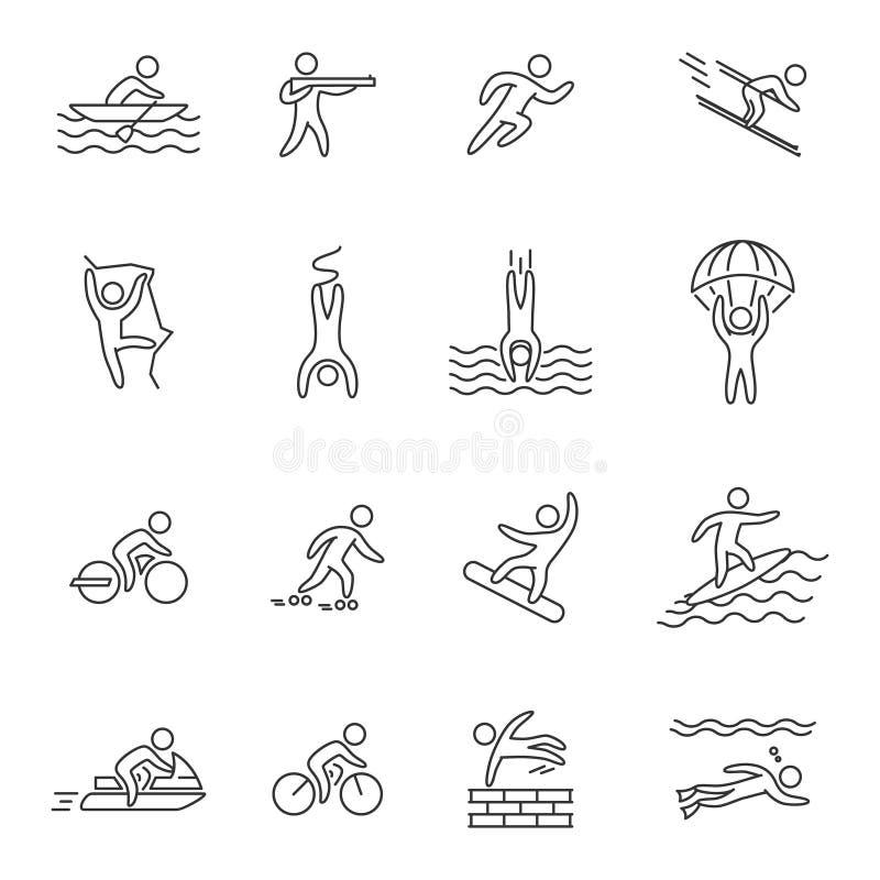 Контуры видов спорта картинки
