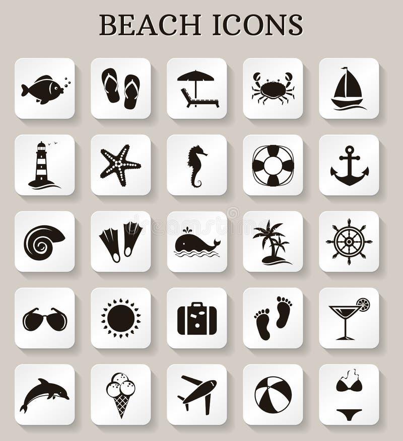 Download Значки пляжа вектор комплекта сердец шаржа приполюсный Иллюстрация вектора - иллюстрации насчитывающей коктеил, праздник: 40584375