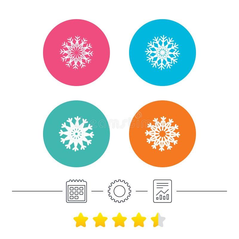 Download Значки снежинок художнические Кондиционер Иллюстрация вектора - иллюстрации насчитывающей рапорт, метка: 81805822