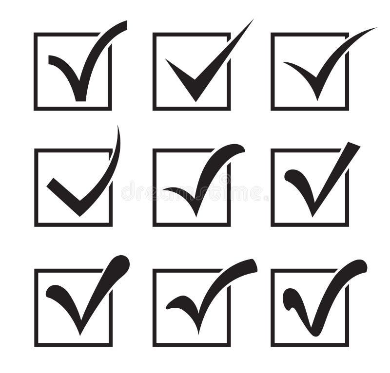 Значки флажка бесплатная иллюстрация