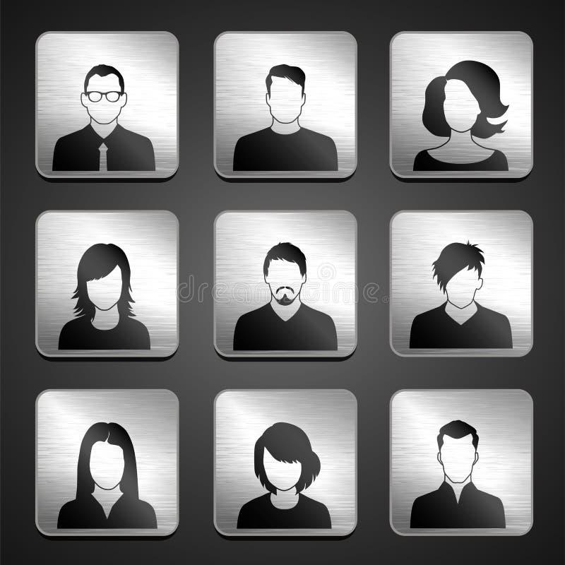 Значки людей бесплатная иллюстрация