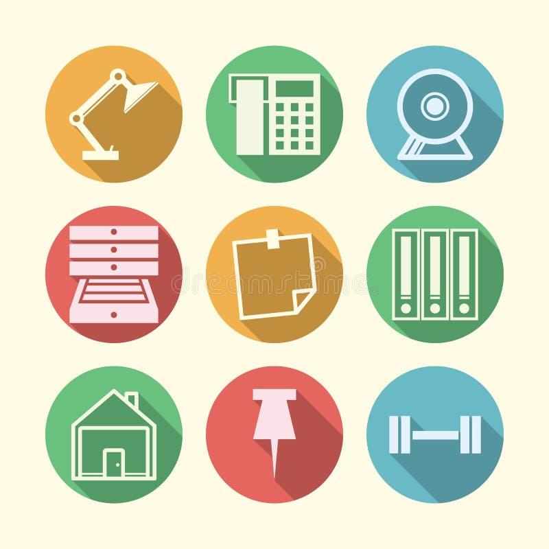 Download Значки для независимого и дела Стоковое Изображение - изображение насчитывающей сообщение, график: 41650211