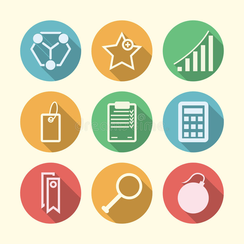 Download Значки для независимого и дела Стоковое Изображение - изображение насчитывающей управление, компьютер: 41650377