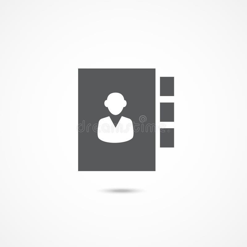Значок адресной книга бесплатная иллюстрация