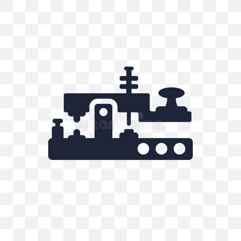 Значок азбуки Морзе прозрачный Дизайн символа азбуки Морзе от Commu иллюстрация штока
