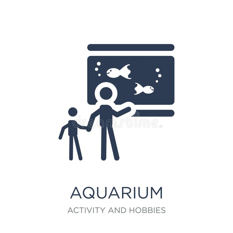 Значок аквариума  бесплатная иллюстрация